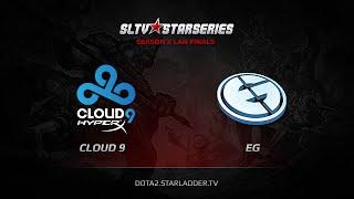 Evil Genuises vs Cloud9, game 1