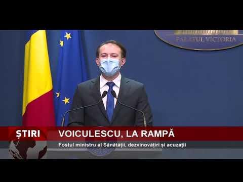 Atacurile lui Vlad Voiculescu la adresa premierului Florin Cîţu, sancţionate de liderul PNL, Ludovic Orban