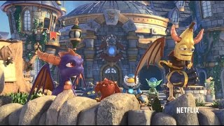 A clip from the new Netflix original series, Skylanders Academy. This clip features the voice TheDiamondMinecart, Dan Middleton, ...