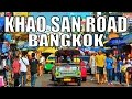 KHAOSAN ROAD BANGKOK IN AMAZING THAILAND [full HD]