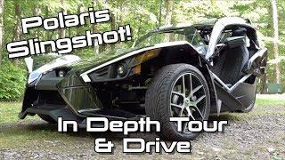 9. 2019 Polaris Slingshot Grand Touring: Start Up, Test Drive & In Depth Tour