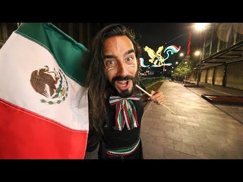 Vivo el grito de INDEPENDENCIA de MÉXICO | Por primera vez