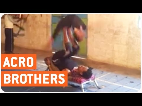 Incredible Acrobatic Act | Yeneta Brothers