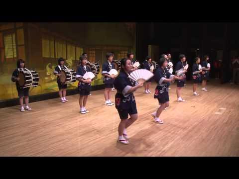滝沢市立一本木中学校さんさ踊り