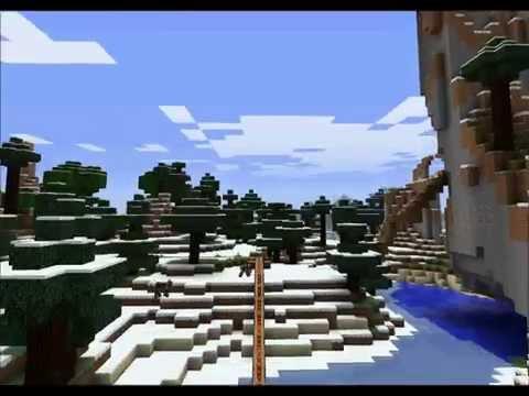Minecraft Rollercoaster long ride - wortelpap -
