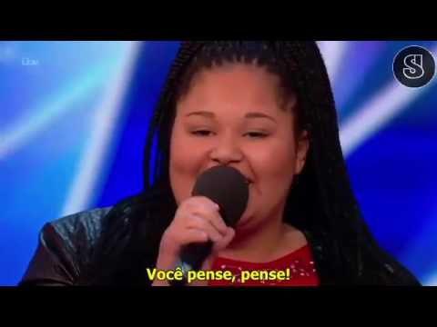 Destiny Cantando Think By Aretha Franklin