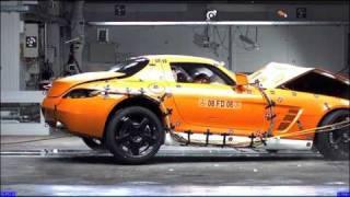 Креш тест Новая модель мерседеса SLS AMG 2010
