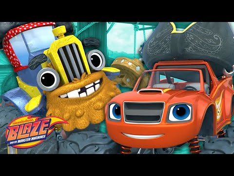 Pirate Blaze on a High Seas Adventure!   Blaze and the Monster Machines