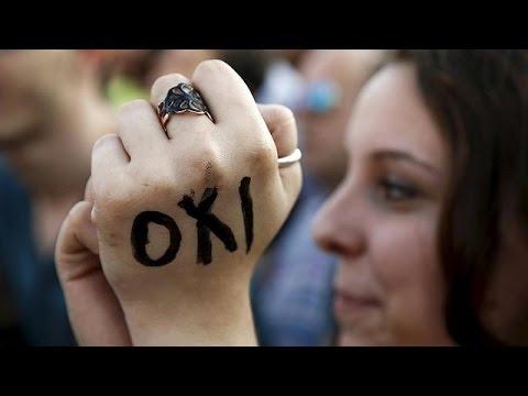 Ελλάδα: Η συγκέντρωση του «ΟΧI» στην Αθήνα