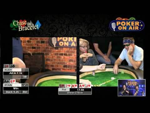 S5G6P2 CTB Chase The Bracelet Season 5 Game 6   Poker Game Show by Poker On Air