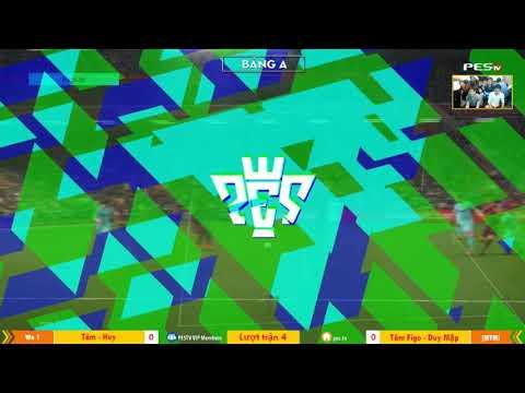 PES League 2v2 | [WE1] Tâm Barca + Ken Nguyễn vs [MYM] Tâm Figo + Duy Mập 23-12-2017