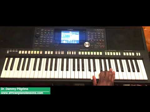 African Highlife - Piano Tutorial In Key F. Part 2 (Nigerian Versus Ghana Highlife)