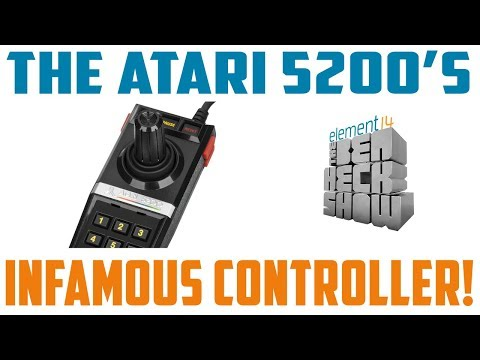 Atari 5200: Making a Better Controller