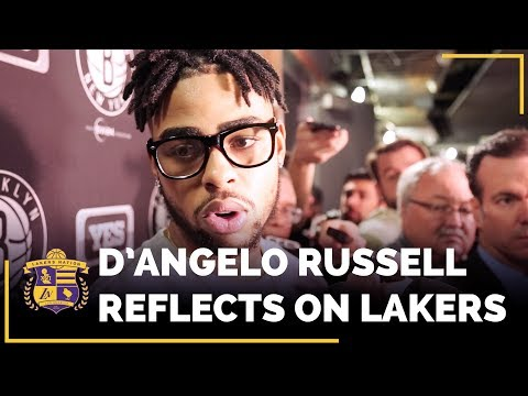 Video: D'Angelo Russell Reflects on Time With Lakers, Kobe Bryant