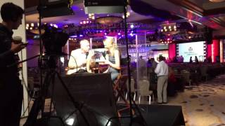 Certified Angus Beef TV shooting live at the CAB 2016 convention in Tucson, AZ