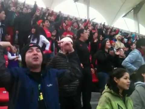 rediablos sin bombos ni lienzos contra el conce - Los REDiablos - Ñublense