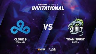 Cloud 9 vs Team Spirit, Game 3 SL i-League Invitational S2, EU Qualifier