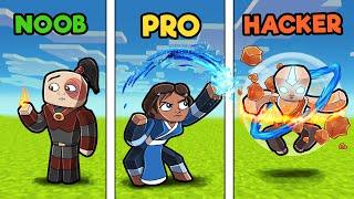 Avatar The LAST Airbender! (Noob vs PRO vs Hacker)