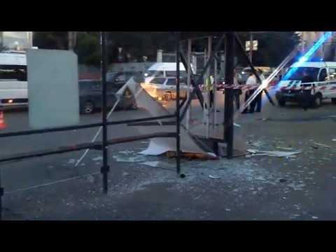 Волгоград - ДТП на площади Чекистов