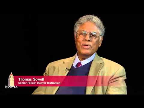 rich tax cuts - Thomas Sowell with Peter Robinson on Uncommon Knowledge talking about his book - 'Trickle Down Theory.'