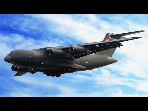 The USAF's guest C-17A and the...