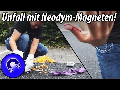 So gefährlich sind Neodym-Magnete
