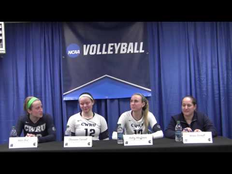 NCAA WVB: CWRU Postgame Press Conference vs. Mary Washington