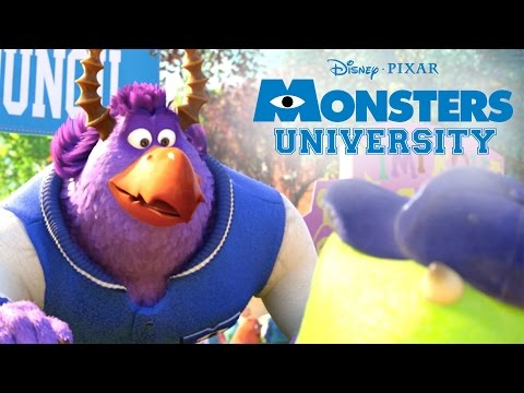 College Days | Monsters U | Disney Pixar