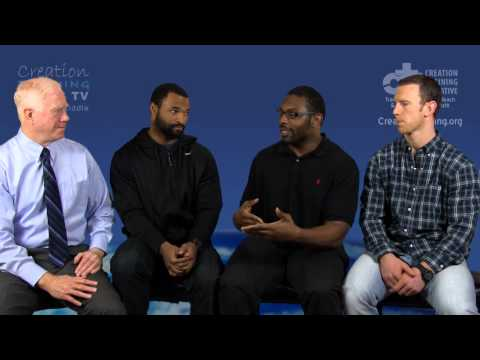 Mike Riddle Interviews Three Professional Football Players