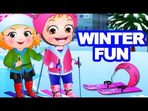 Video of Baby Hazel Winter Fun