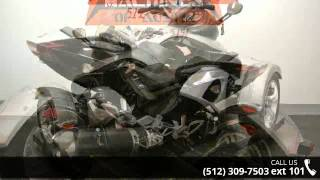 7. 2008 Can-Am Spyder GS Roadster SM5  - Dream Machines Indi...
