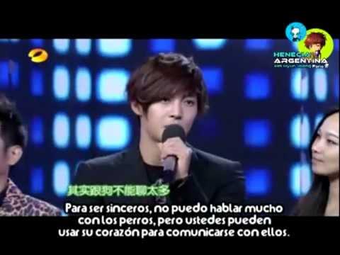 17112012 Kim Hyun Joong @ Happy Camp Full [Sub Español]