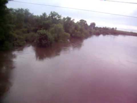 Atravessando o Ibirapuitã (Antes da enchente)