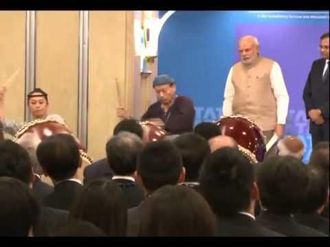 japanese - PM Narendra Modi in