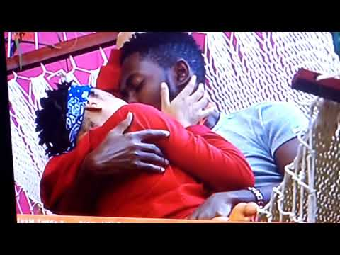 #BBNaija first kissing in Big Brother Naija 2018, Miraculous kissing of Miracle