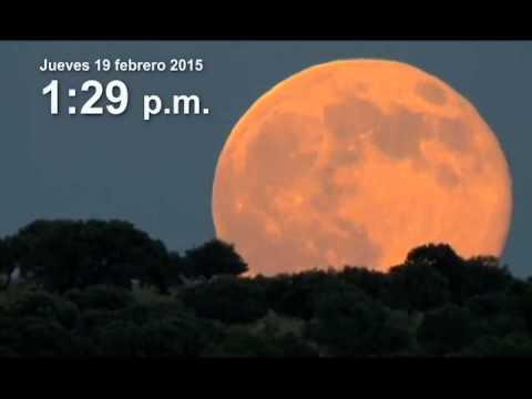 Superluna febrero 2015