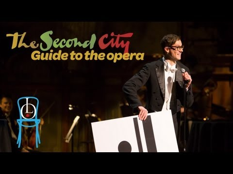 Lyric Opera of Chicago & The Second City present stand-up comedian Arnold Schoenberg