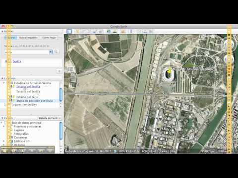 Crear un itinerario en Google Earth