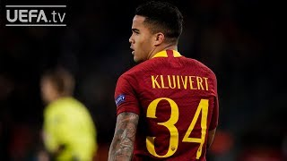 Download Video Why does Justin Kluivert wear #34 at Roma? MP3 3GP MP4