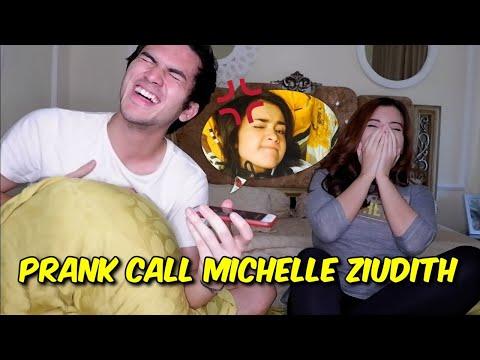 PRANK CALL MICHELLE ZIUDITH WITH RIZKY NAZAR