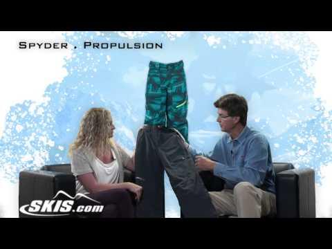 2014 Spyder Propulsion Boys Ski Pants Overview by SKIS.COM