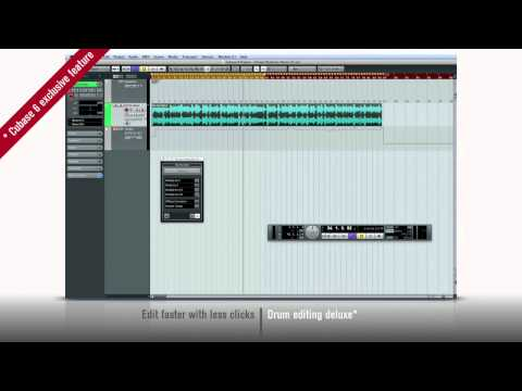 Cubase 6 – New Features 1 – Edit faster with less clicks