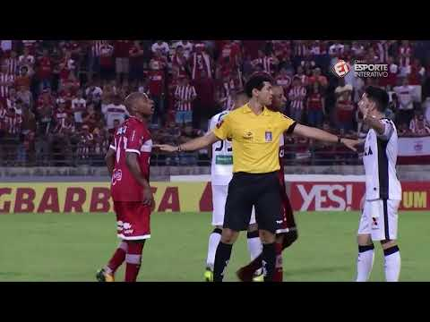 Copa Nordeste CRB 3 x 3 Ceará - Quartas-de-Final - 1º Jogo