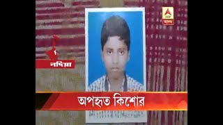 A teenage boy kidnapped from Nadia.