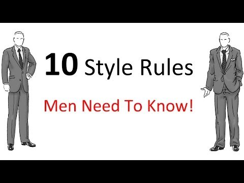 Community Magazine -10 Style Rules Every Man Should Know | Men's Fashion Guidelines To Follow | Style Rules For Men