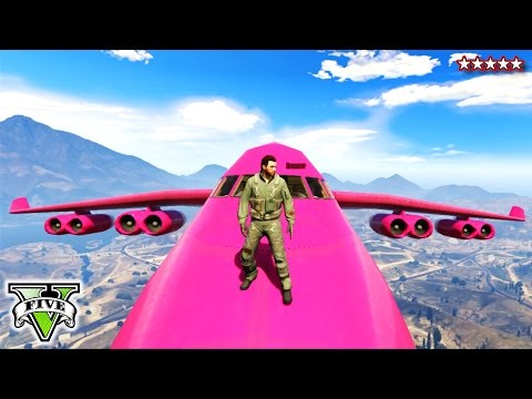 Gta - GTA 5 PINK CARGO PLANE | GTA Extreme Jet Stunts | Extreme Jet Landing GTA Online ▻Hike's Heroes - http://j.mp/HikesHeroes ▻HikePlays - http://j.mp/HikePlays ▻HikeTheGamer - http://j.mp/Hik...