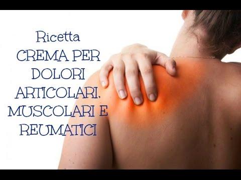 crema naturale contro dolori reumatici, articolari e muscolari fai-da-te