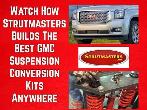 2007-2013 GMC Yukon Front Air Suspension Conversion Kit Build