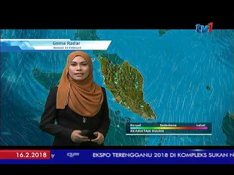 MET MALAYSIA – LAPORAN CUACA [16 FEB 2018]