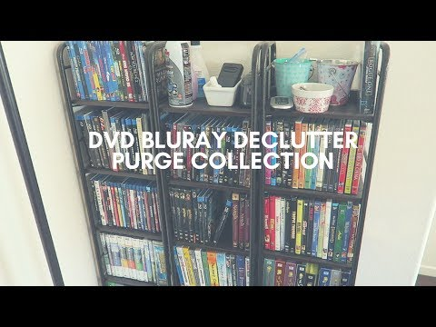 DVD BLURAY DECLUTTER, PURGE, AND COLLECTION!